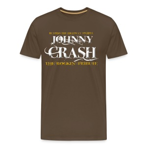 Johnny Crash (the rockin' tribute) - Männer Premium T-Shirt