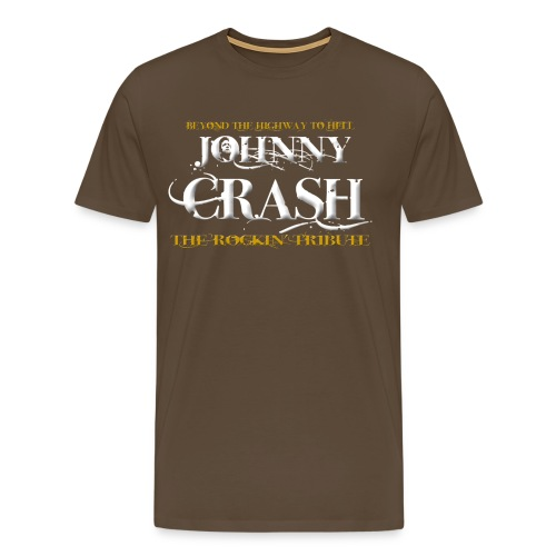 Johnny Crash (the rockin' tribute) - Männer Premium T-Shirt