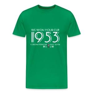 1953 Coronation Cup - Men's Premium T-Shirt