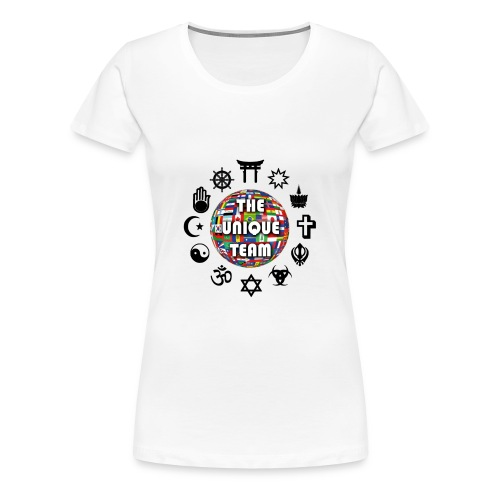 T Shirt F Unique Team - Women's Premium T-Shirt