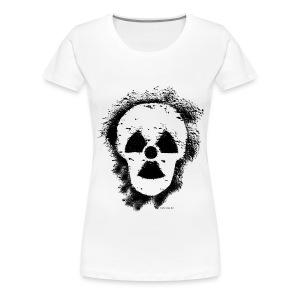 Anti-Atomkraft Graffiti (vorne + hinten) - Frauen Premium T-Shirt