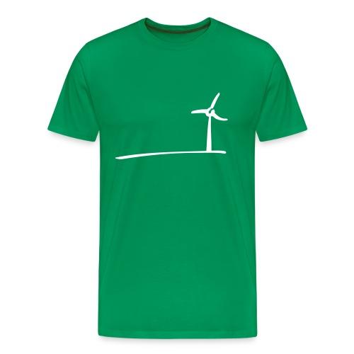 Windmühle - Mann - Männer Premium T-Shirt