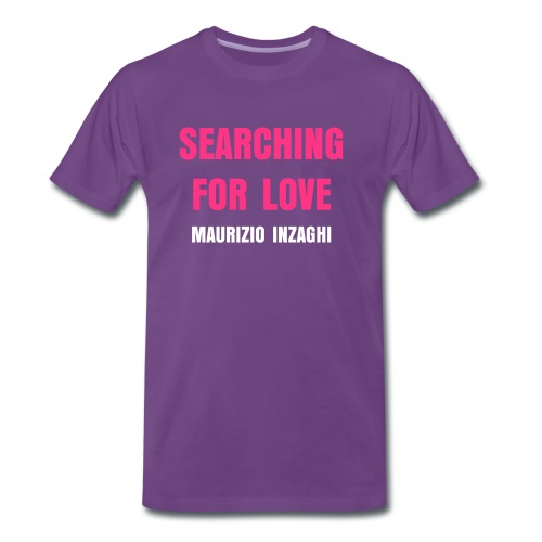 Searching For Love - Männer Premium T-Shirt