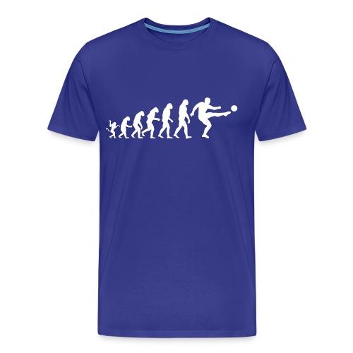 L'évolution du football - T-shirt Premium Homme