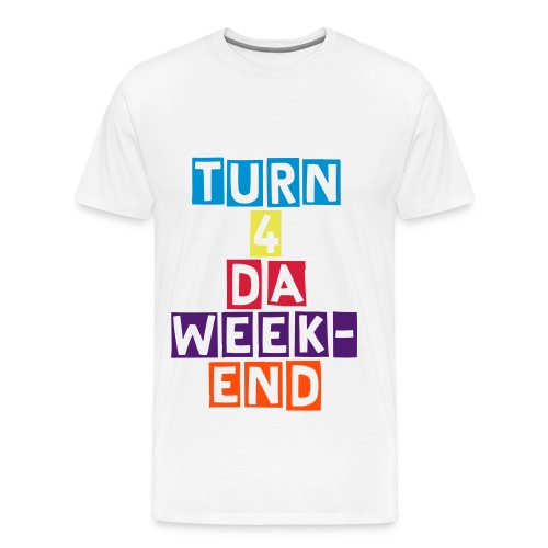 Turn 4 da week-end - T-shirt Premium Homme