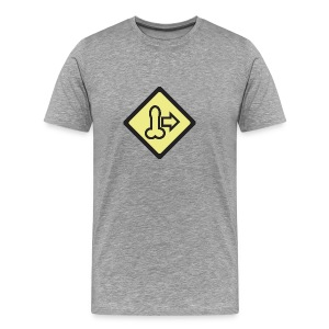 Dick Move Symbol - Men's Premium T-Shirt