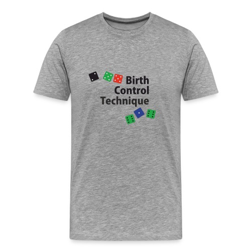 Any Double - Birth Control - Men's Premium T-Shirt