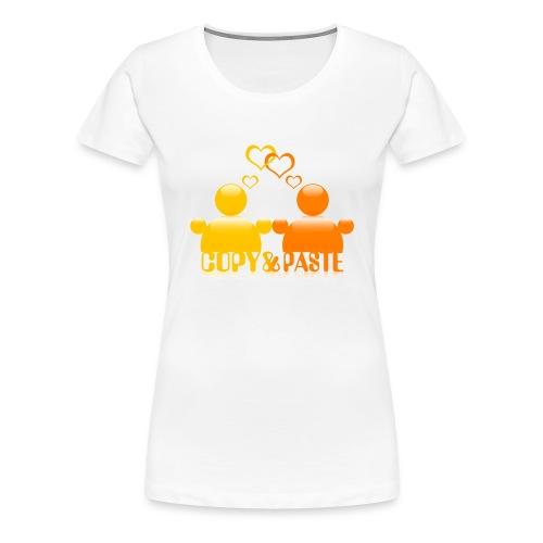 Copy & Paste in love - Frauen Premium T-Shirt