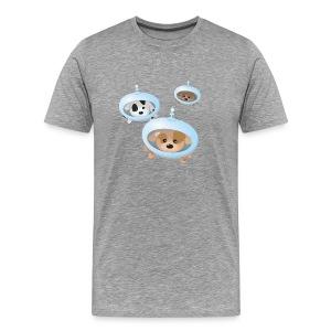 Space Puppies - Men's Premium T-Shirt