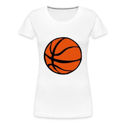 Koripallo - Naisten premium t-paita