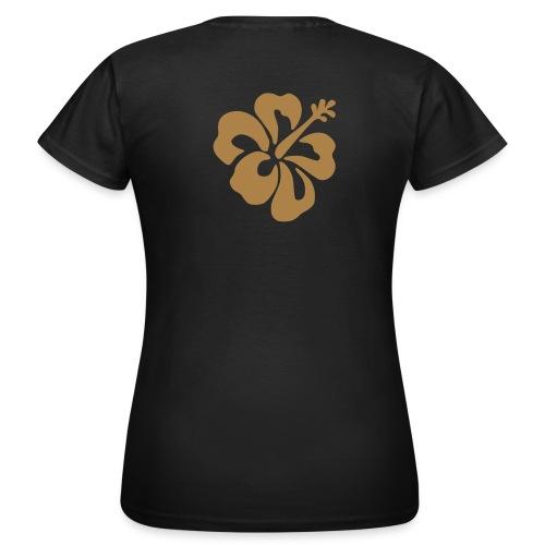 flower braun - Frauen T-Shirt