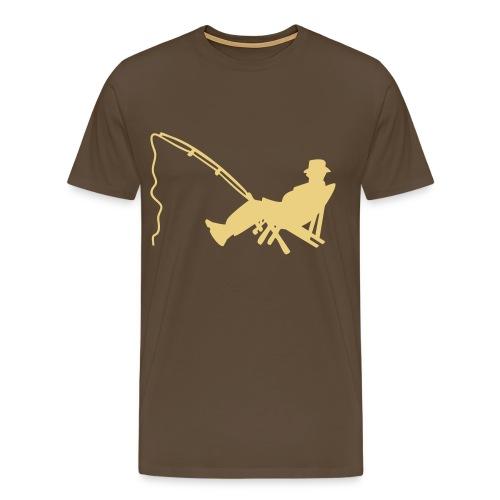 T-shirt Premium Homme - tee shirt,t-shirt,pecheur,peche,geek,fish,cl0sed