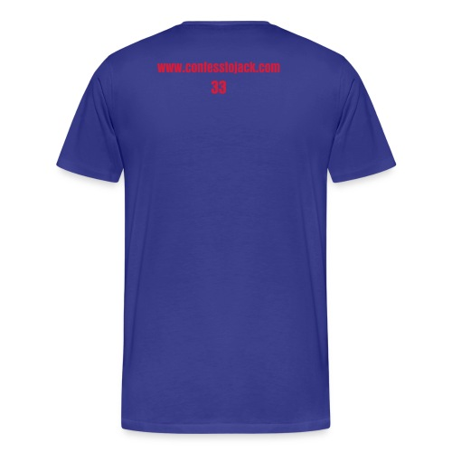 33 Jack T-shirt (Red 33) - Men's Premium T-Shirt