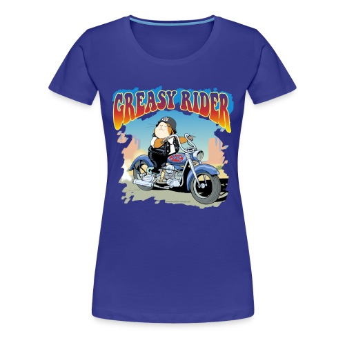 Greasy Rider - Frauen Premium T-Shirt