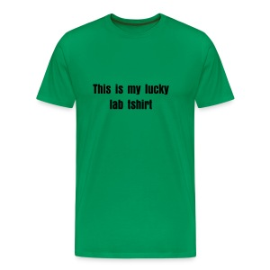 This is my Lucky Lab Tshirt - Men's Premium T-Shirt
