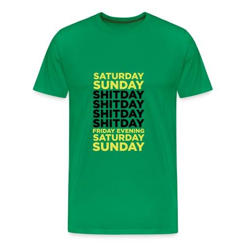 Mens Shitday shirt - Premium T-skjorte for menn