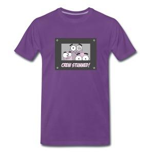 Crew Stunned - Men's Premium T-Shirt