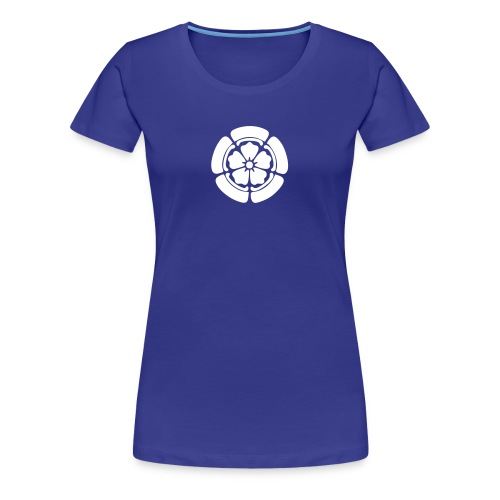 JAPANESE FLOWER - Frauen Premium T-Shirt