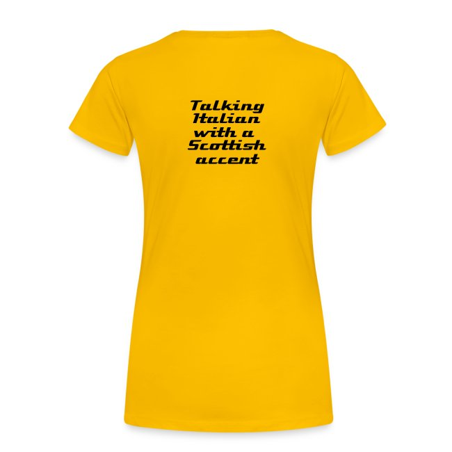 Ladies simple logo t-shirt, available in a wide range of colours
