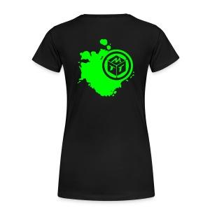 Date a Nerd | Girlie - Frauen Premium T-Shirt