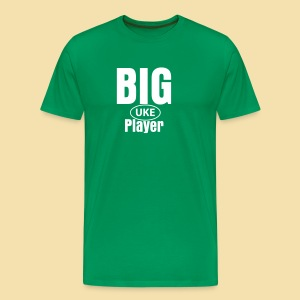 XXL-Menshirt: BIG UKE Player - Männer Premium T-Shirt