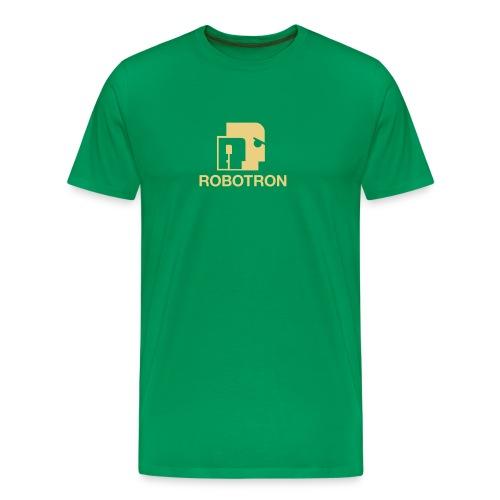 WRZ_49_GRE_ROBOTRON - Männer Premium T-Shirt
