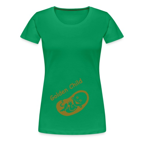 Golden Child classic greenish - Women's Premium T-Shirt