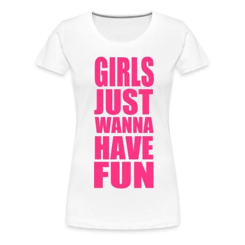 Girls Fun - Frauen Premium T-Shirt