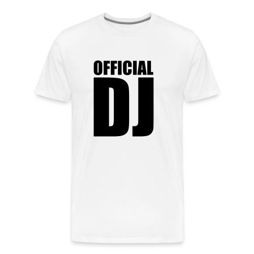 Shirt DJ - Männer Premium T-Shirt