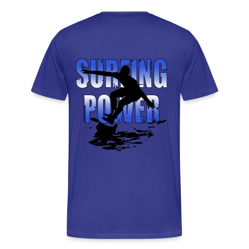 surfing power t-shirt - Men's Premium T-Shirt