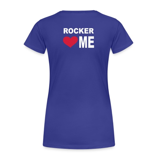 T-shirt donna -rock'n'roll + retro - Maglietta Premium da donna