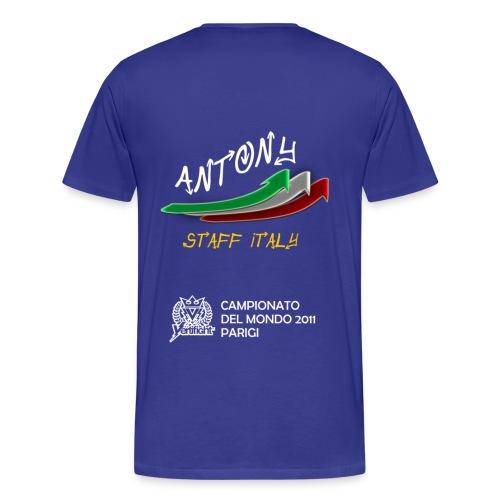 MAGLIA NAZIONALE 2011 - Maglietta Premium da uomo