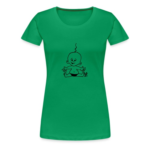 child hood - Women's Premium T-Shirt