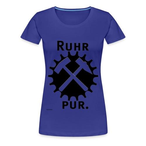 RuhrPur, das damenhafte Bekennershirt - Frauen Premium T-Shirt