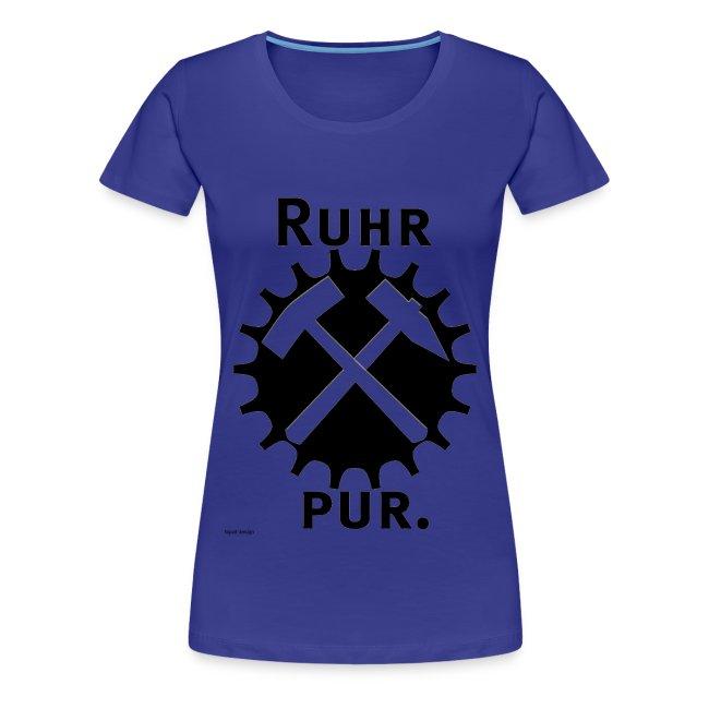 RuhrPur, das damenhafte Bekennershirt