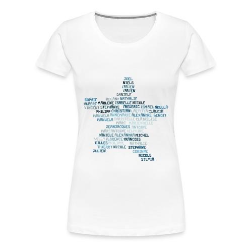 star_gibloux_blue - T-shirt Premium Femme
