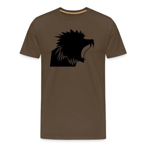 Beast Head (Scheiß Tribüne) - Männer Premium T-Shirt