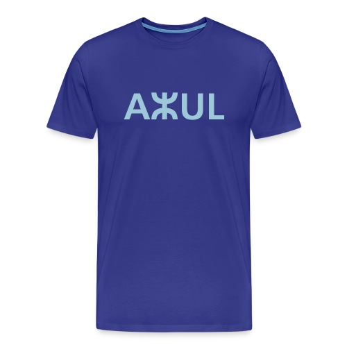 Royal blue azul men's T-Shirts - Men's Premium T-Shirt