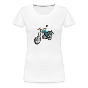 Girly-Shirt mit Simson Motiv - Frauen Premium T-Shirt