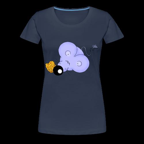 Murkel Maus (extragroß) - Frauen Premium T-Shirt