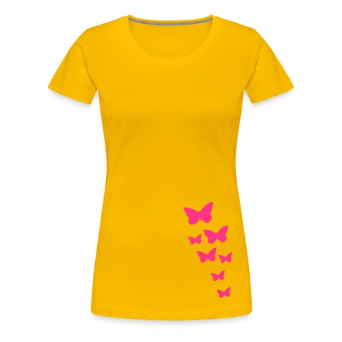 Butterfly. - Frauen Premium T-Shirt