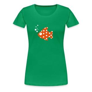 Fisch-Shirt - Frauen Premium T-Shirt