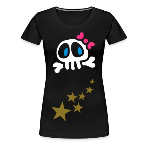 Skull and Star T-shirt - Women's Premium T-Shirt