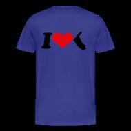 T-Shirts ~ Männer Premium T-Shirt ~ I Love Amrum 2
