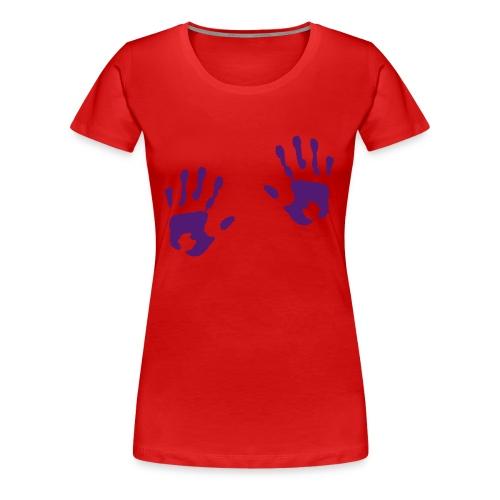 Unique Grabbing - Premium T-skjorte for kvinner