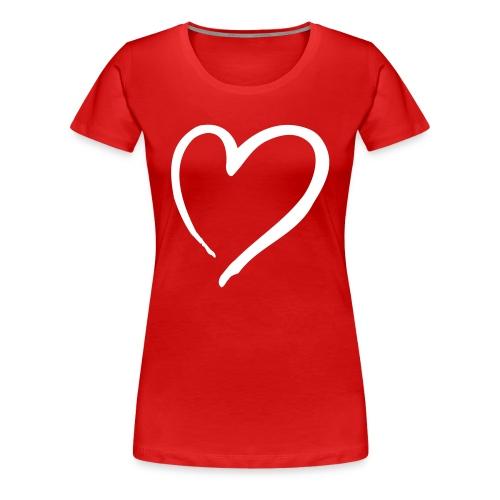 Love Shirt - Frauen Premium T-Shirt