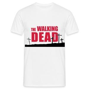 camiseta walking dead - cruces - chico manga corta - Camiseta hombre