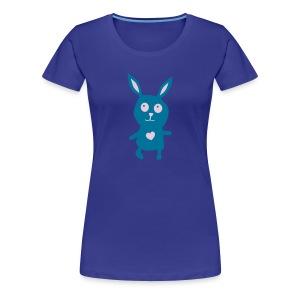 Häschen-Shirt - Frauen Premium T-Shirt
