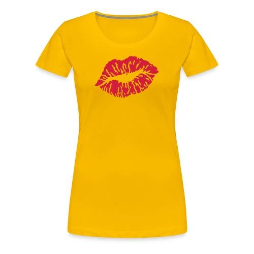 kiss - T-shirt Premium Femme