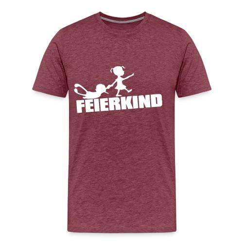 Feierkind (Party Shirt) - Männer Premium T-Shirt